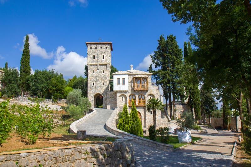 15 wiek Serbski Ortodoksalny monaster Tvrdos, Trebinje, Bośnia i Herzegovina, obrazy royalty free