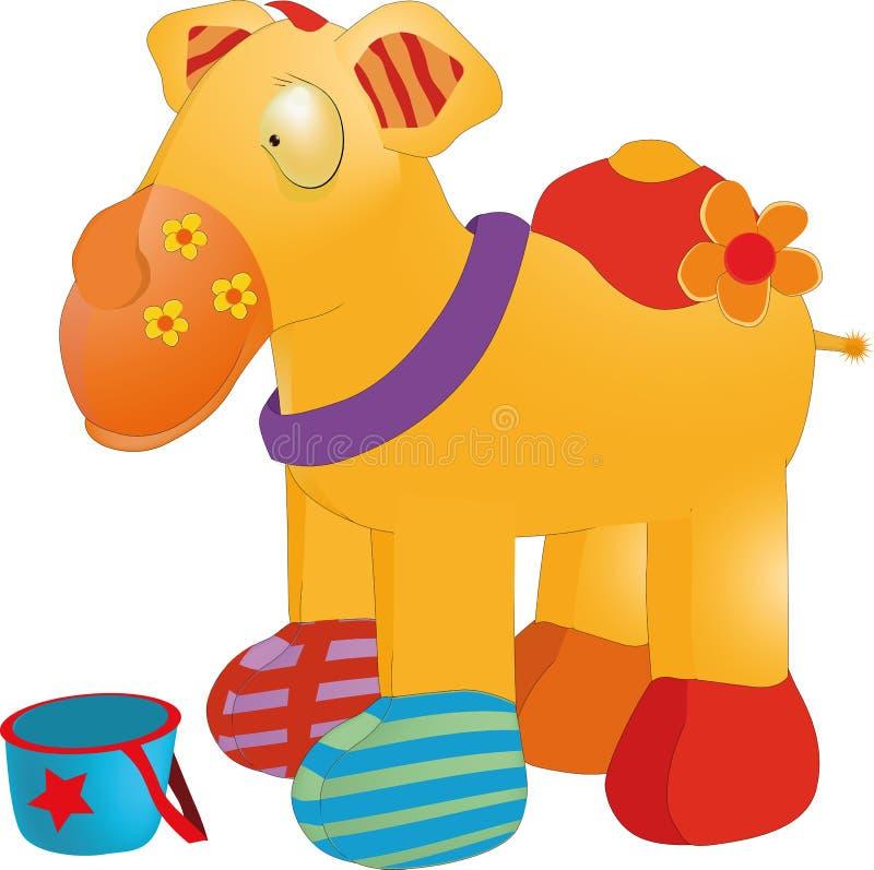 wielbłąd zabawka ilustracja wektor