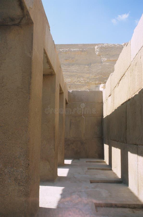 Wielcy ostrosłupy przy Giza fotografia stock