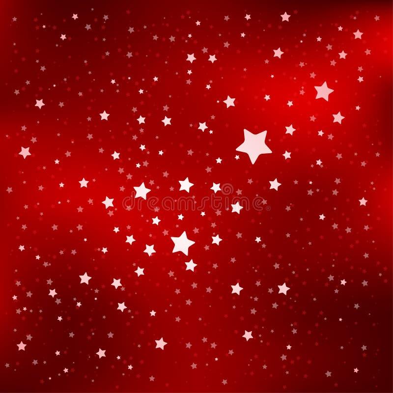wiele gwiazd niebieskich ilustracji