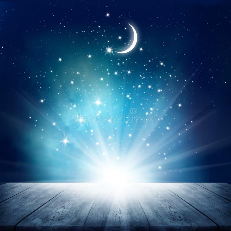 wiele gwiazd niebieskich obraz stock