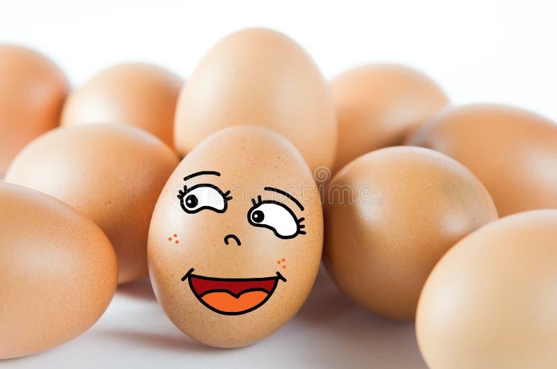 Wiele jajka obrazy royalty free