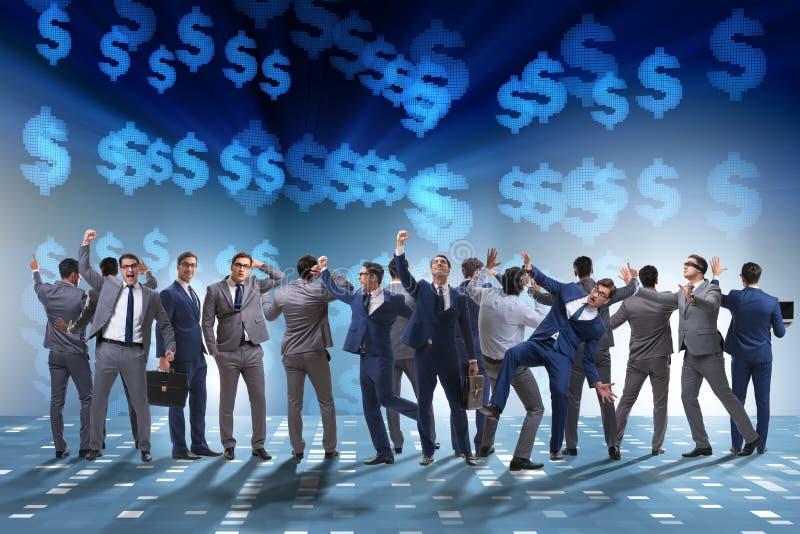 Wiele ludzie biznesu w współpracy pojęciu zdjęcia royalty free