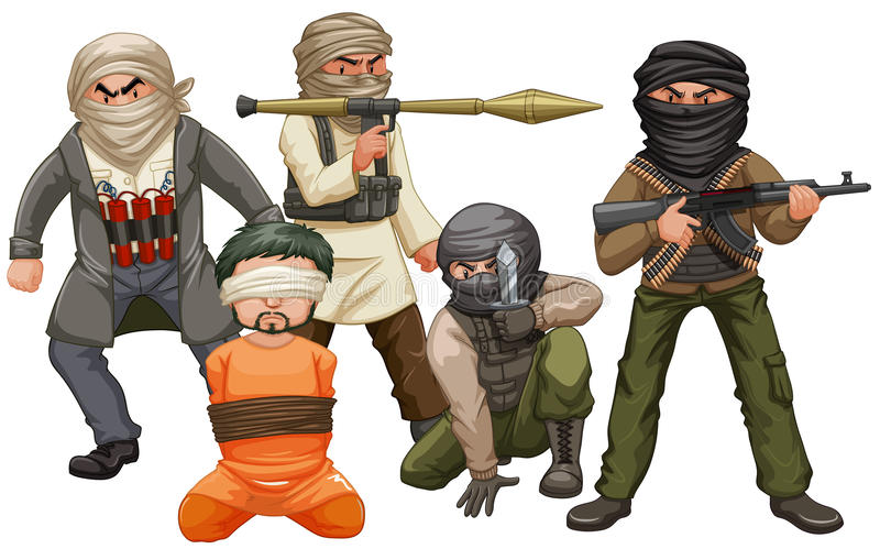 Wiele nędznicy i ofiara ilustracji