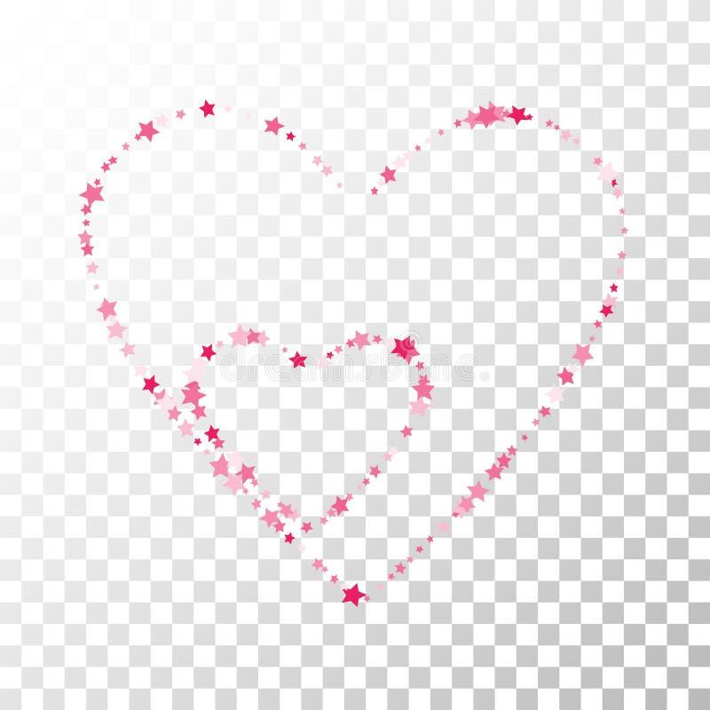 Download Wiele Przypadkowi Spada Gwiazd Confetti Na Przejrzystym Ilustracja Wektor - Ilustracja złożonej z dekoracyjny, wyznaczający: 106919116