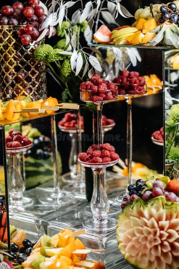 Wiele różne owoc wesele zdjęcie royalty free