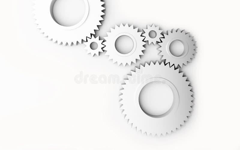 Wielen vector illustratie