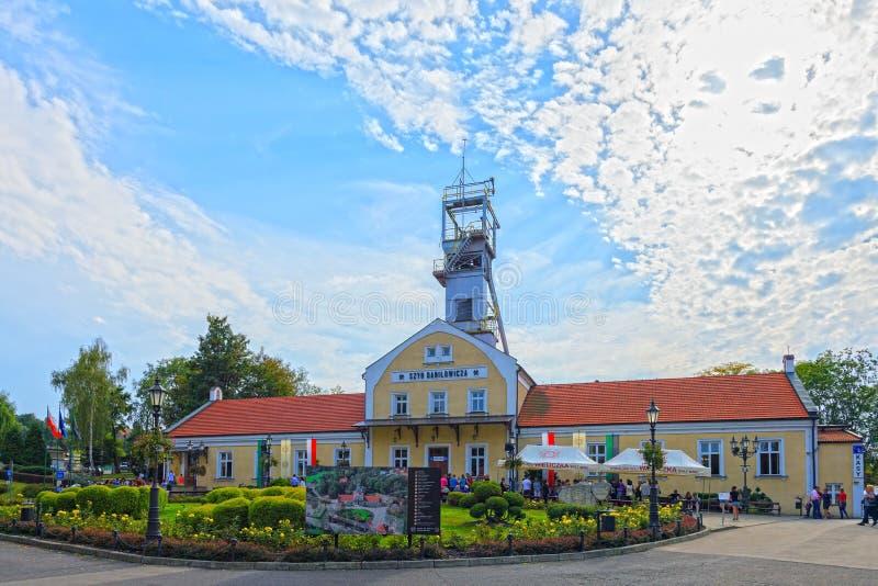 Wieliczka盐矿大厦  免版税库存图片