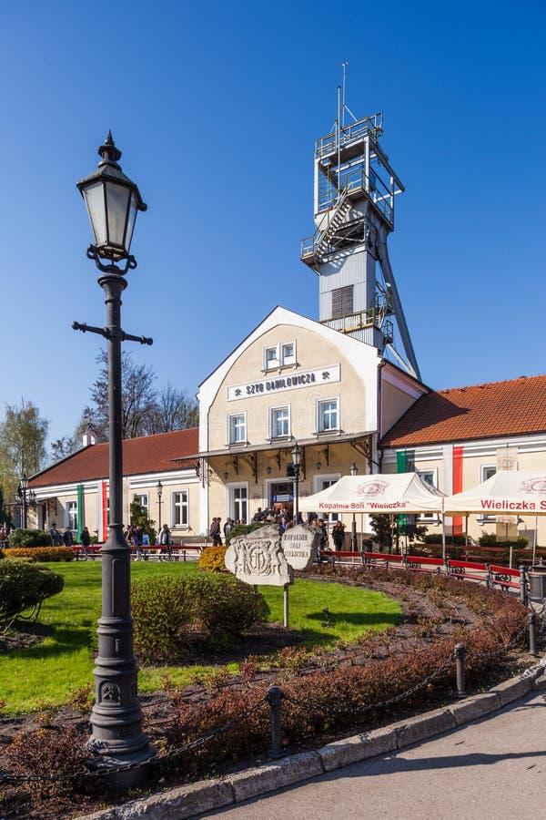 Wieliczka - Πολωνία - υπόγειο μουσείο αλατισμένου ορυχείου στοκ εικόνες