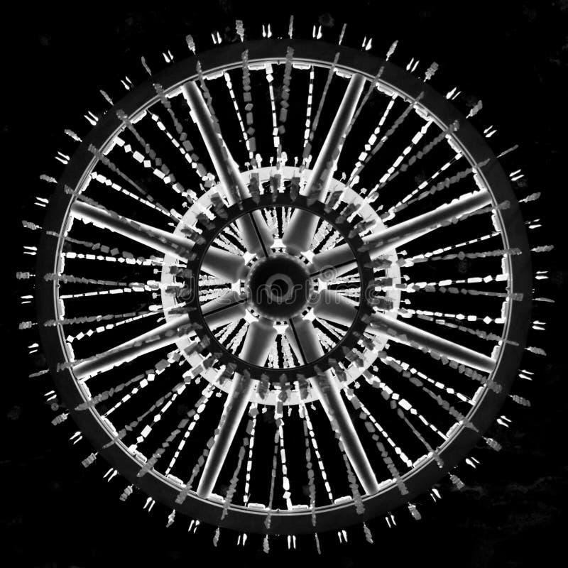 Wieliczka, Польша - 20-ое октября 2016 Одно из массивнейшего chande стоковые изображения rf