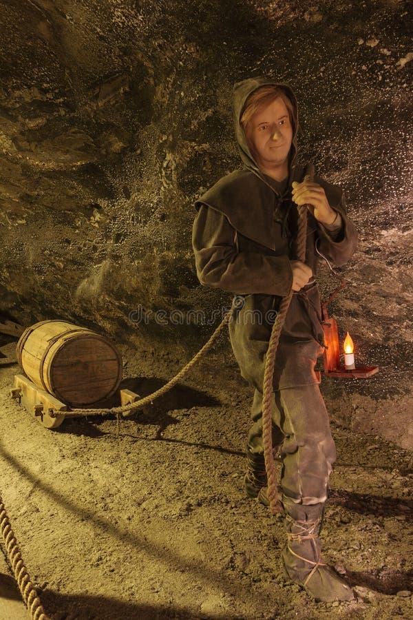 wieliczka соли шахты стоковая фотография rf
