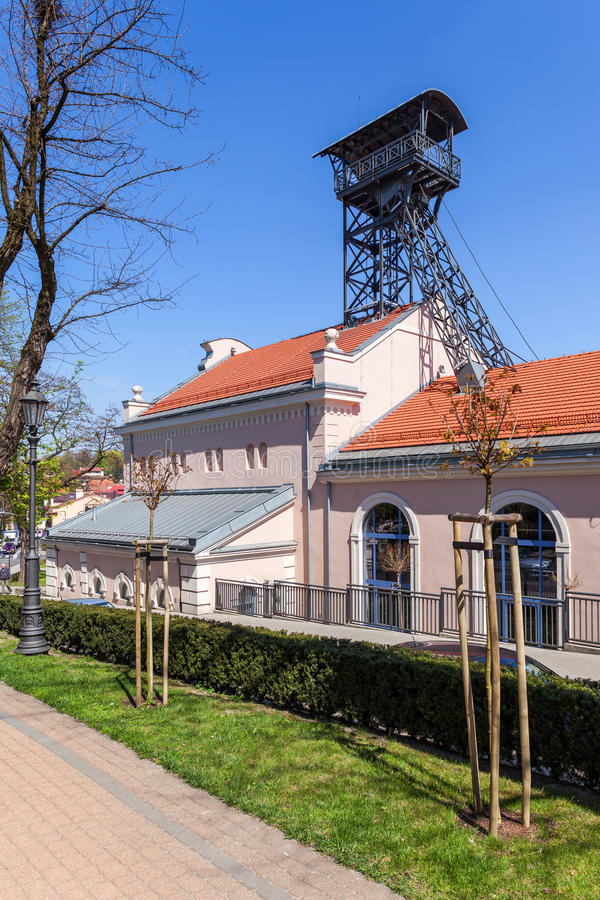 Wieliczka - Polen - Regis Shaft royalty-vrije stock foto