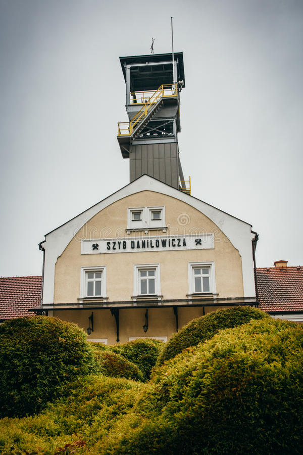 Wieliczka Polen - 20th Oktober 2016 Museum för salt min i Wieli royaltyfri fotografi