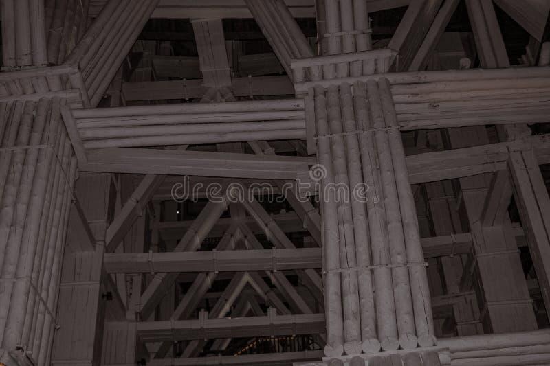 WIELICZKA POLOGNE : Le 3 janvier 2013 : La mine de sel de Wieliczka dans la ville de Wieliczka, Pologne du sud, se trouve en dess photo stock
