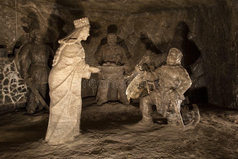 Wieliczka Salt Mine royalty free stock photos