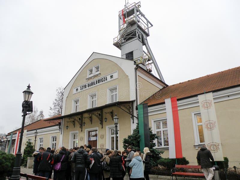 Wieliczkazoutmijn, Polen royalty-vrije stock fotografie