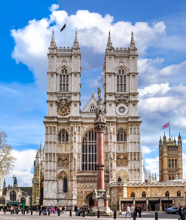 wielka brytania Westminster abbey London fotografia stock