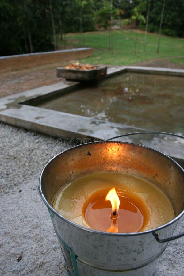 wielka candle zdjęcie royalty free