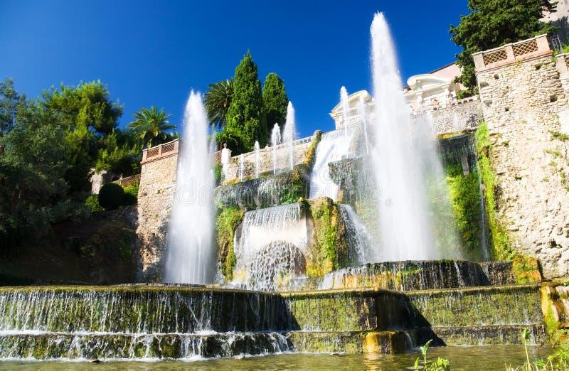 wielka fontanna zdjęcia stock