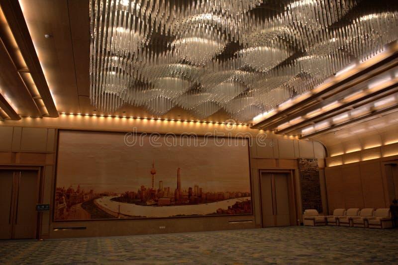 Wielka Hala ludzie, Pekin, Chiny zdjęcia royalty free