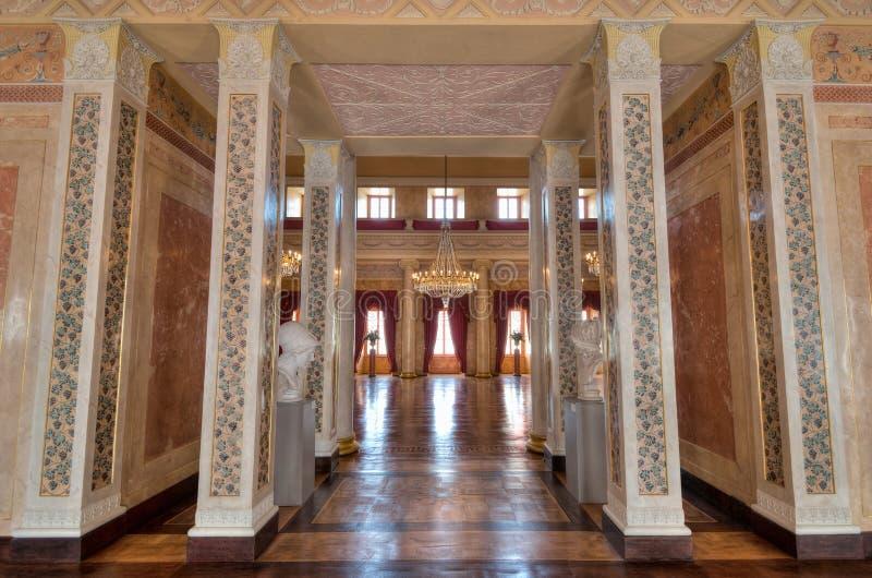 Wielka Hala przy Stadtschloss w Weimar zdjęcie royalty free
