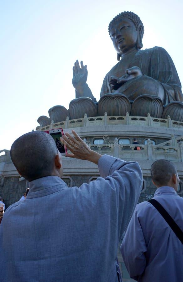 wielka posąg Buddy zdjęcie royalty free