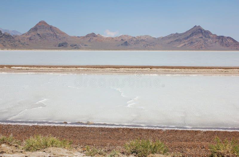 Wielka Salt Lake pustynia. Utah, usa zdjęcia royalty free