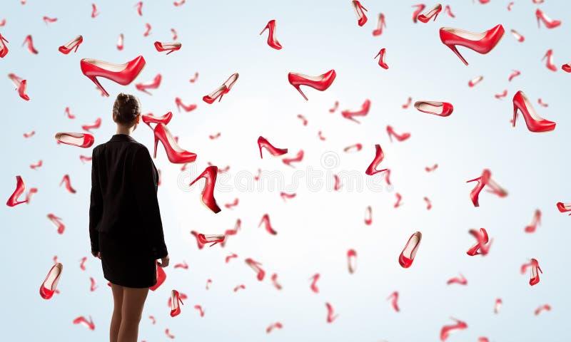 Wielka but sprzedaż zdjęcie royalty free