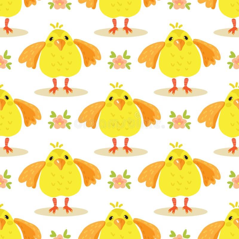 Wielkanoc chicken-03 royalty ilustracja