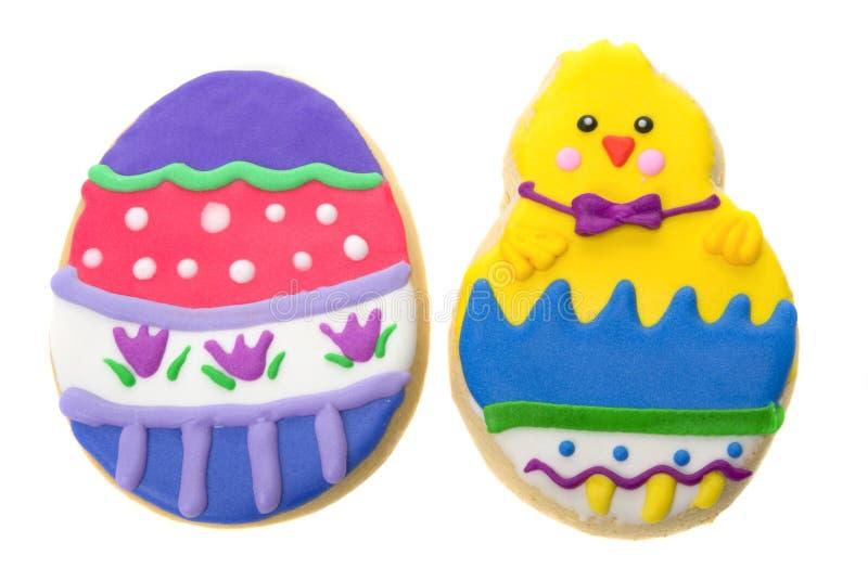 Wielkanoc ciasteczka zdjęcia stock