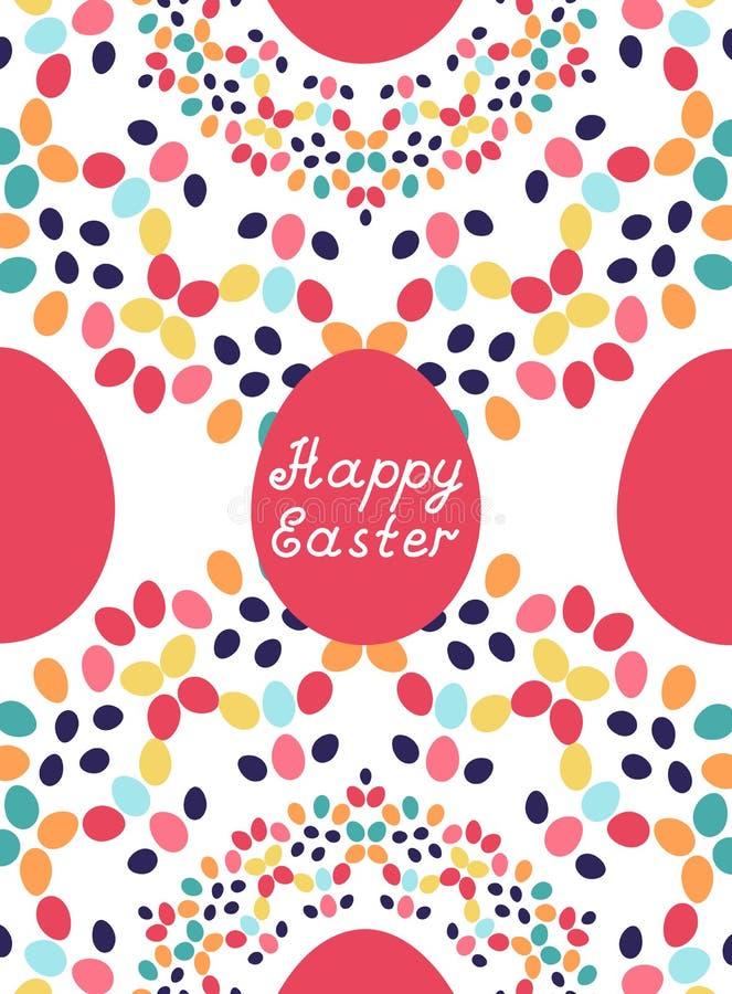 Wielkanoc karty szczęśliwy również zwrócić corel ilustracji wektora fotografia royalty free