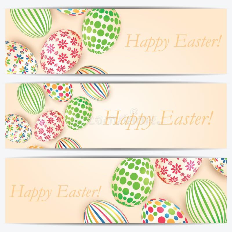 Download Wielkanoc kolor jaj ilustracja wektor. Ilustracja złożonej z kropka - 53775113