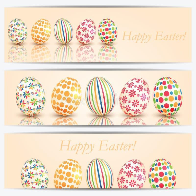 Download Wielkanoc kolor jaj ilustracja wektor. Ilustracja złożonej z easter - 53775117
