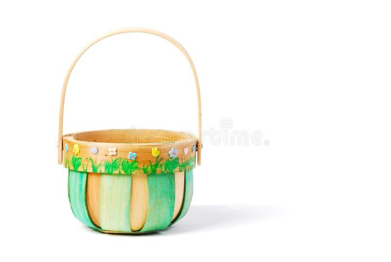 Wielkanoc koszykowa green występować samodzielnie fotografia royalty free