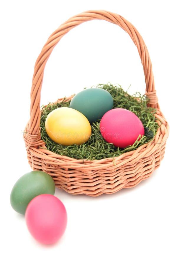 Wielkanoc koszykowy fotografia royalty free