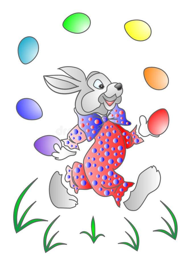 Wielkanoc królik. zdjęcie stock