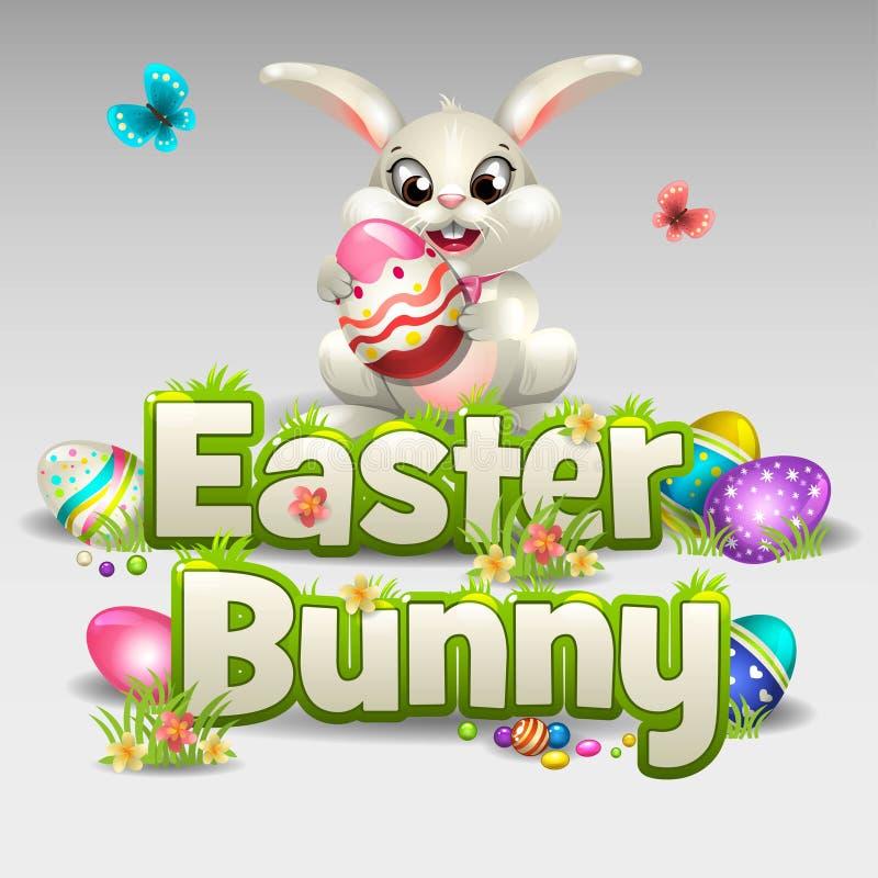 Wielkanoc królik ilustracji