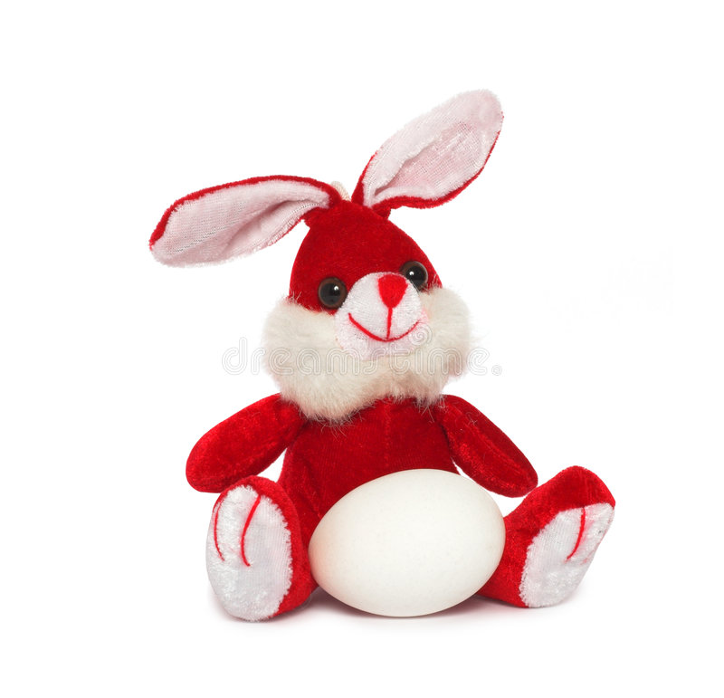 Wielkanoc królika jajko zdjęcia stock