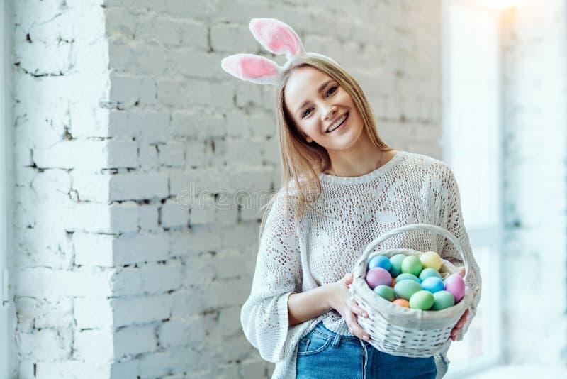 Wielkanoc mój ulubiony wakacje! zdjęcie royalty free