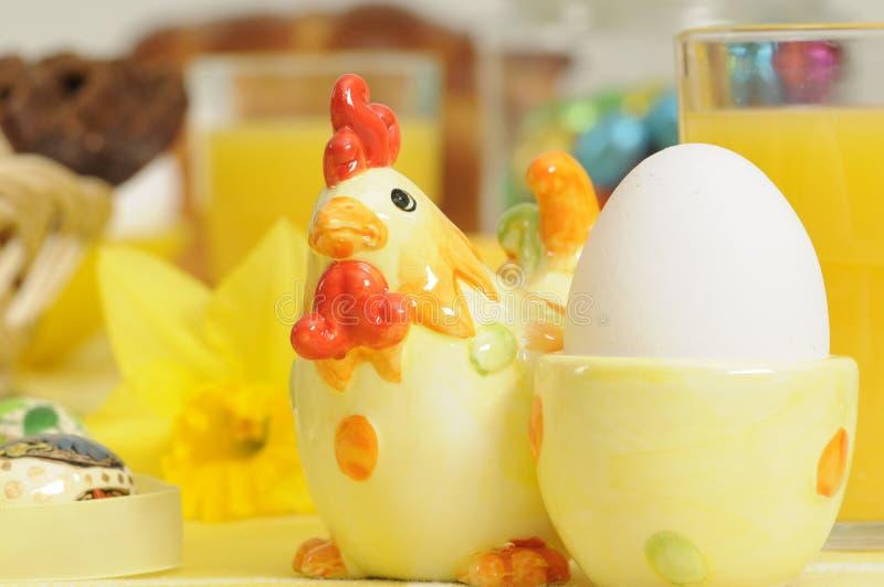 Wielkanoc na śniadanie obraz stock