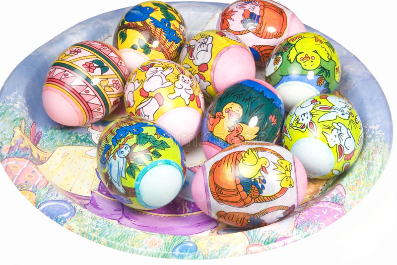 Wielkanoc Płytki Obraz Royalty Free