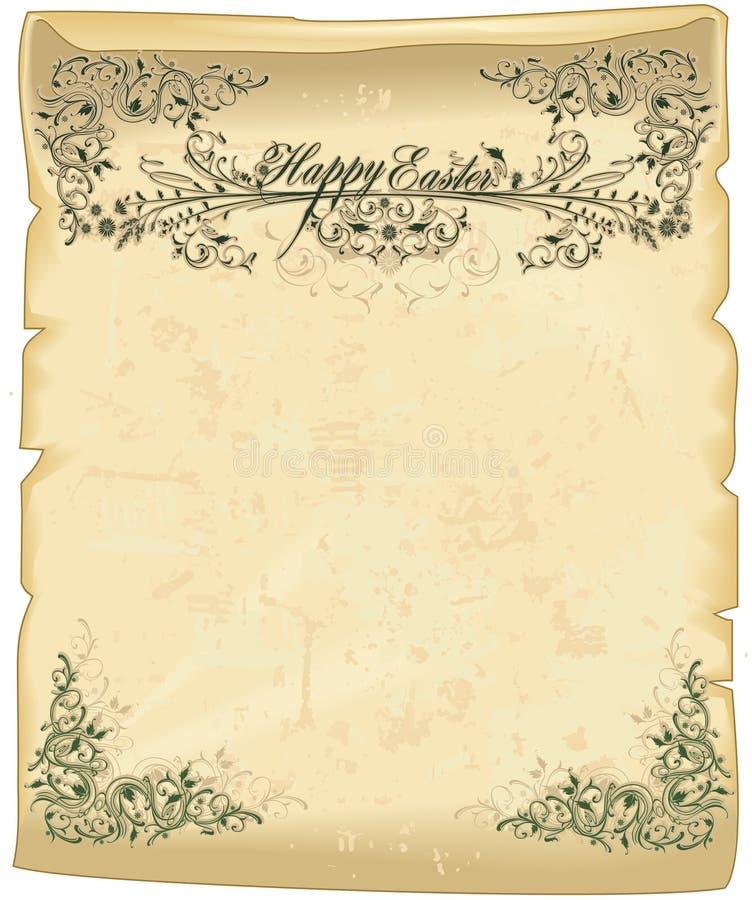 wielkanoc pergamin ilustracji