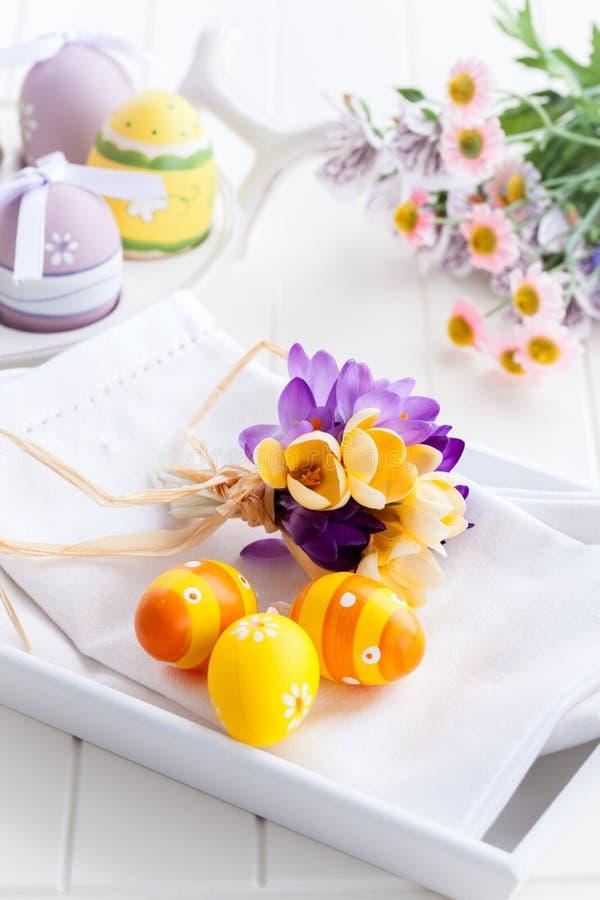 Wielkanoc stół obrazy stock