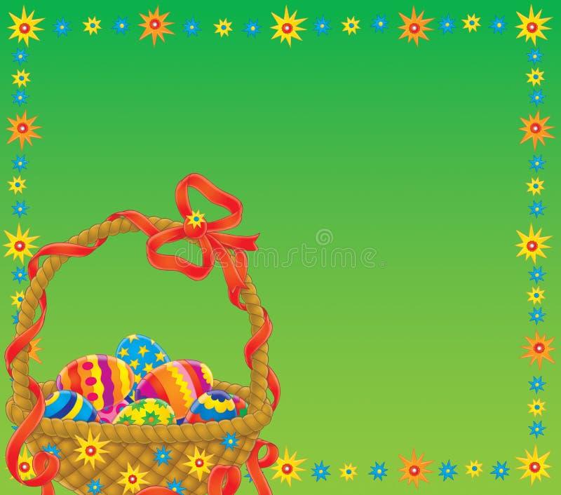 Wielkanoc tło ilustracji