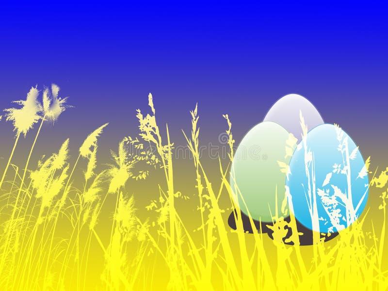 Wielkanoc tło royalty ilustracja
