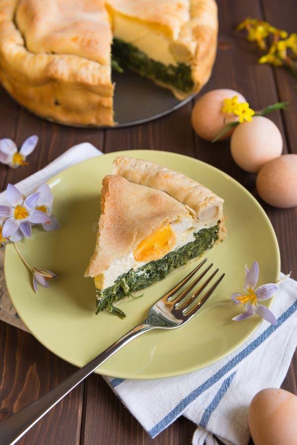 Wielkanoc tort zdjęcia royalty free