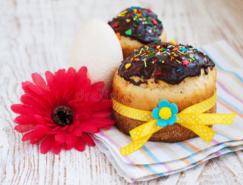 Wielkanoc tort obraz royalty free