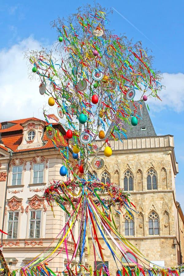 Wielkanoc w Praga, republika czech zdjęcie royalty free