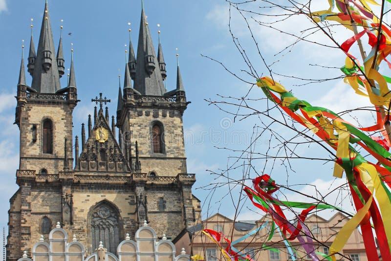 Wielkanoc w Praga, republika czech fotografia stock