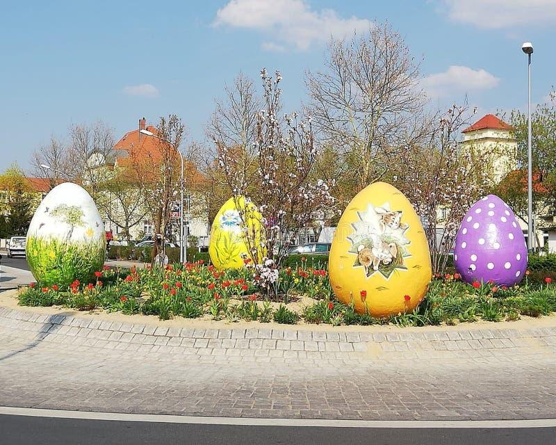 Wielkanoc w Saxony, Niemcy zdjęcia stock